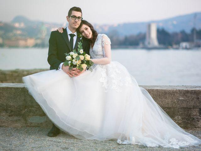 Il matrimonio di Simone e Antonella a Cantello, Varese 33