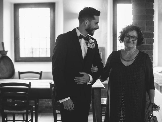 Il matrimonio di Davide e Laura a Ziano Piacentino, Piacenza 11