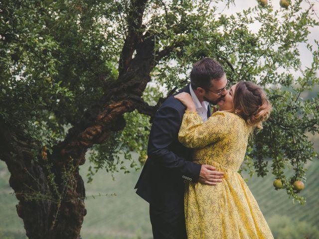 Il matrimonio di Davide e Laura a Ziano Piacentino, Piacenza 25