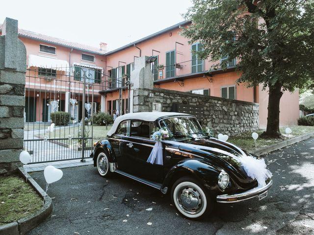 Il matrimonio di Dario e Sharon a Albese con Cassano, Como 50