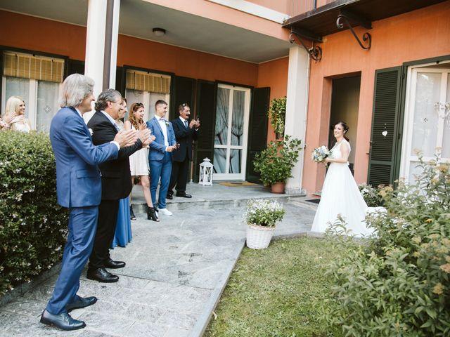 Il matrimonio di Dario e Sharon a Albese con Cassano, Como 59
