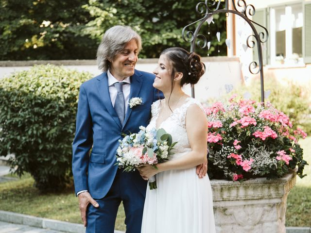 Il matrimonio di Dario e Sharon a Albese con Cassano, Como 60