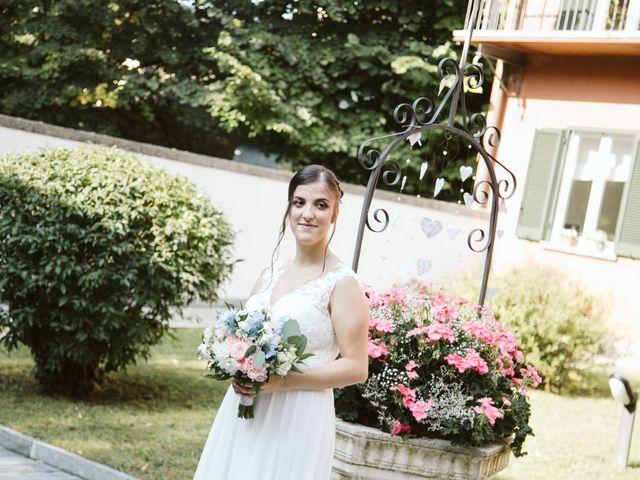 Il matrimonio di Dario e Sharon a Albese con Cassano, Como 62