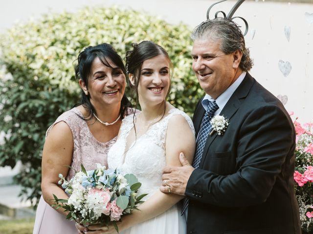 Il matrimonio di Dario e Sharon a Albese con Cassano, Como 64