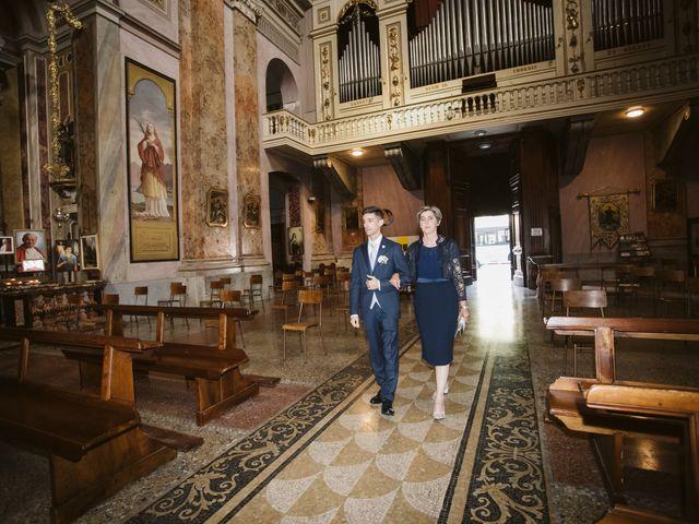 Il matrimonio di Dario e Sharon a Albese con Cassano, Como 78