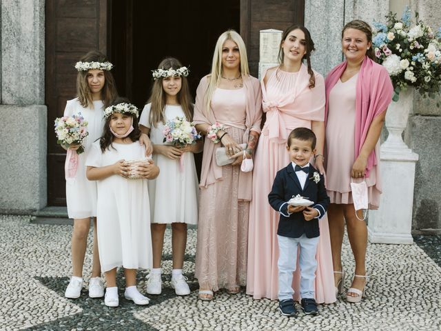 Il matrimonio di Dario e Sharon a Albese con Cassano, Como 84