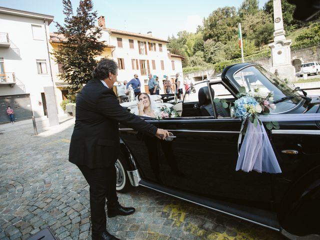 Il matrimonio di Dario e Sharon a Albese con Cassano, Como 89