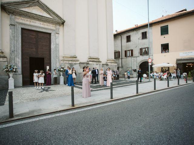Il matrimonio di Dario e Sharon a Albese con Cassano, Como 91