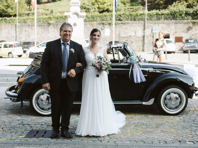 Il matrimonio di Dario e Sharon a Albese con Cassano, Como 92