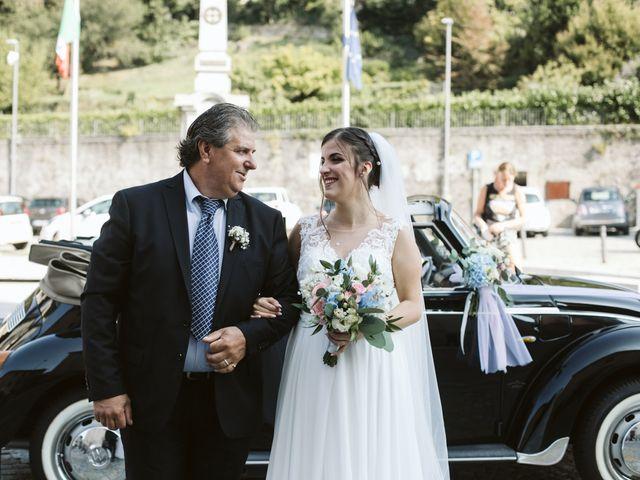 Il matrimonio di Dario e Sharon a Albese con Cassano, Como 93