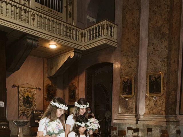 Il matrimonio di Dario e Sharon a Albese con Cassano, Como 95
