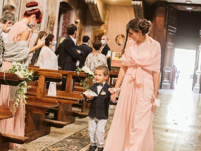 Il matrimonio di Dario e Sharon a Albese con Cassano, Como 98