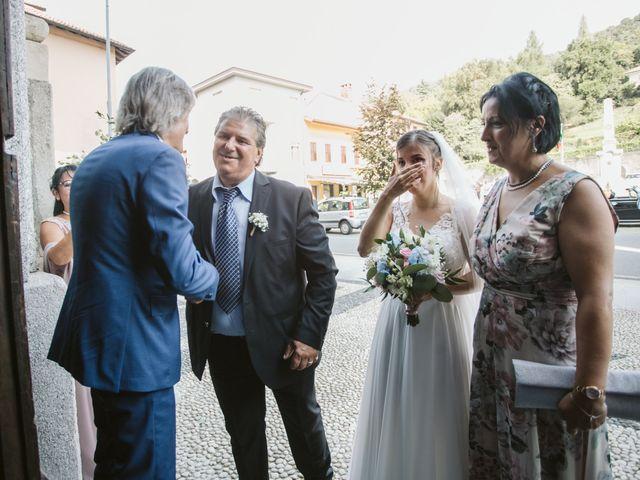 Il matrimonio di Dario e Sharon a Albese con Cassano, Como 102