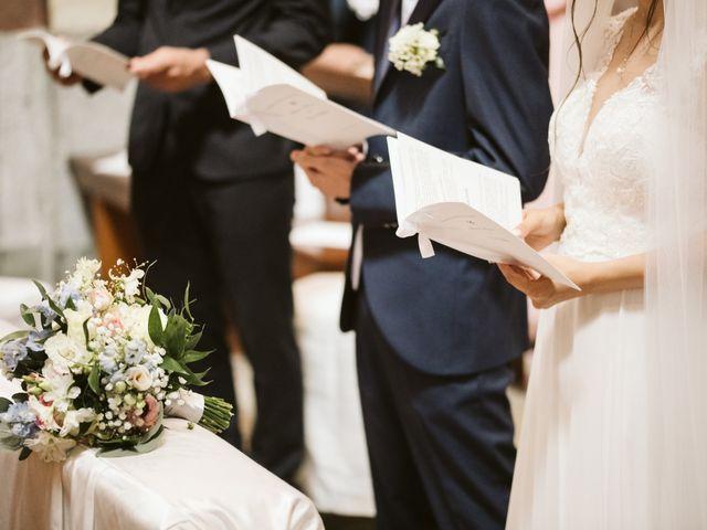 Il matrimonio di Dario e Sharon a Albese con Cassano, Como 107