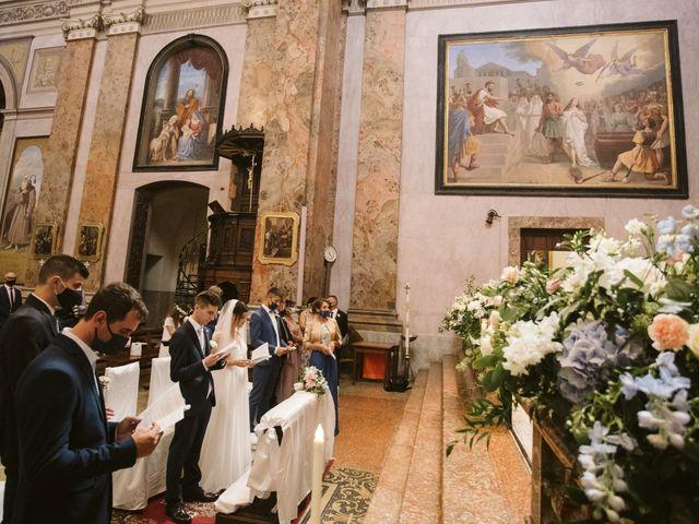 Il matrimonio di Dario e Sharon a Albese con Cassano, Como 109