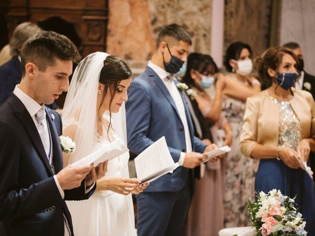 Il matrimonio di Dario e Sharon a Albese con Cassano, Como 110
