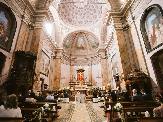 Il matrimonio di Dario e Sharon a Albese con Cassano, Como 111