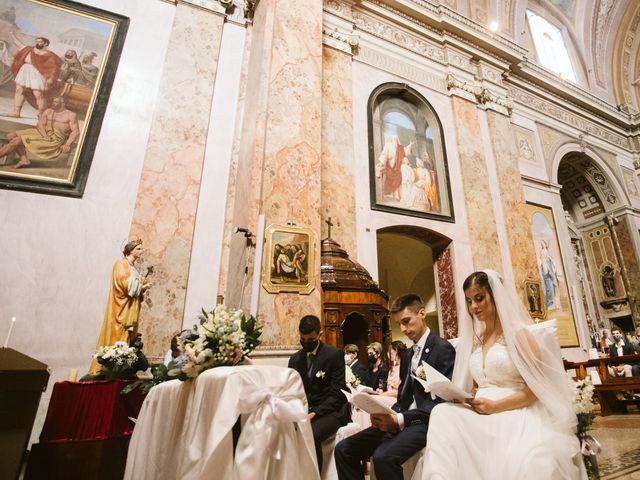 Il matrimonio di Dario e Sharon a Albese con Cassano, Como 112