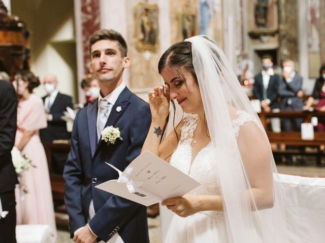 Il matrimonio di Dario e Sharon a Albese con Cassano, Como 113