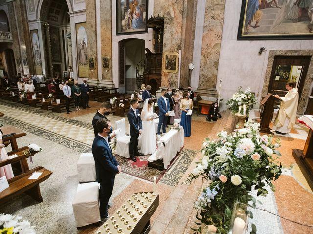 Il matrimonio di Dario e Sharon a Albese con Cassano, Como 114