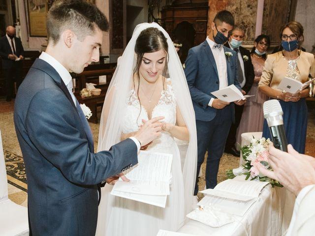 Il matrimonio di Dario e Sharon a Albese con Cassano, Como 115