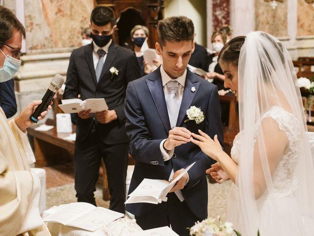 Il matrimonio di Dario e Sharon a Albese con Cassano, Como 116
