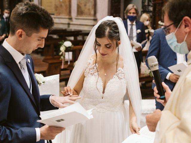 Il matrimonio di Dario e Sharon a Albese con Cassano, Como 117