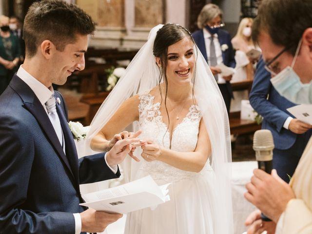 Il matrimonio di Dario e Sharon a Albese con Cassano, Como 118