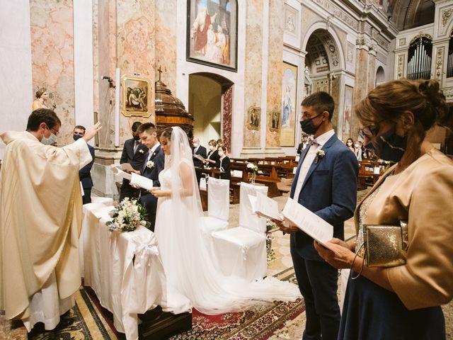 Il matrimonio di Dario e Sharon a Albese con Cassano, Como 120