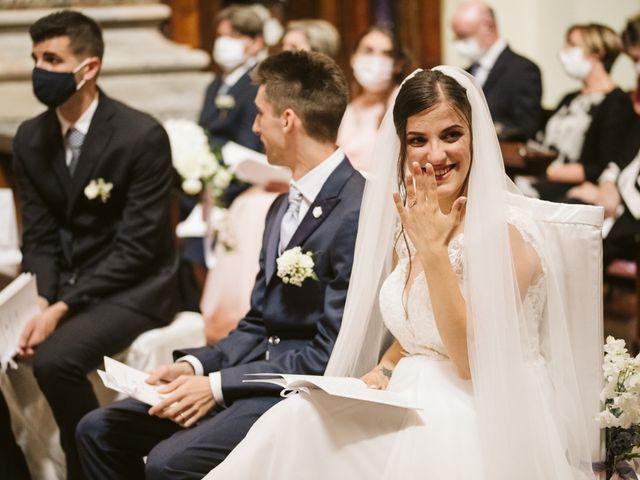 Il matrimonio di Dario e Sharon a Albese con Cassano, Como 123