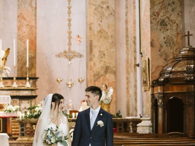 Il matrimonio di Dario e Sharon a Albese con Cassano, Como 125
