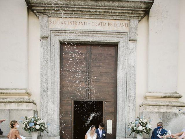 Il matrimonio di Dario e Sharon a Albese con Cassano, Como 127