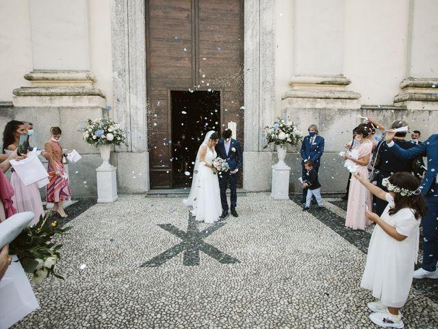 Il matrimonio di Dario e Sharon a Albese con Cassano, Como 128