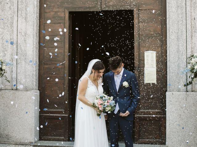 Il matrimonio di Dario e Sharon a Albese con Cassano, Como 130