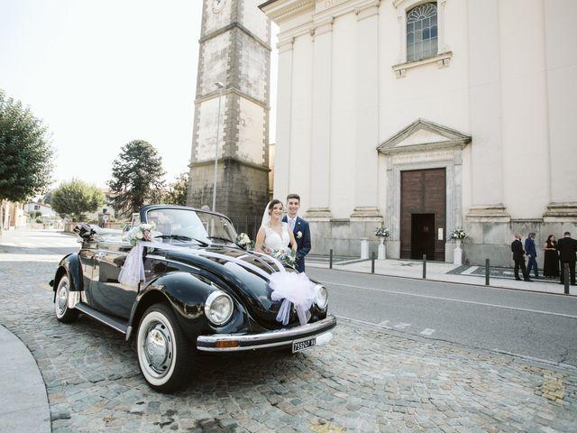Il matrimonio di Dario e Sharon a Albese con Cassano, Como 134