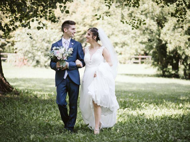 Il matrimonio di Dario e Sharon a Albese con Cassano, Como 141