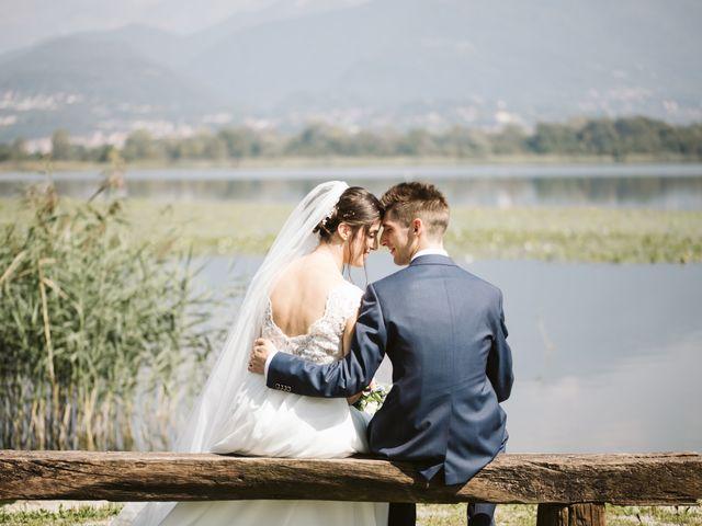 Il matrimonio di Dario e Sharon a Albese con Cassano, Como 145