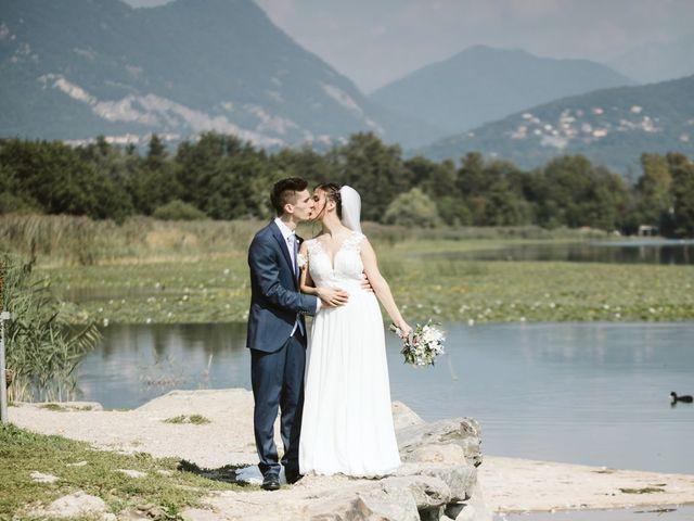 Il matrimonio di Dario e Sharon a Albese con Cassano, Como 149