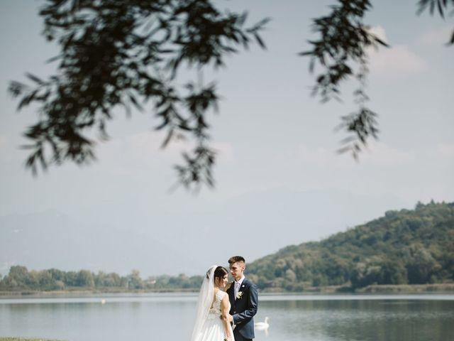 Il matrimonio di Dario e Sharon a Albese con Cassano, Como 151