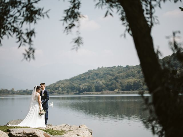 Il matrimonio di Dario e Sharon a Albese con Cassano, Como 152