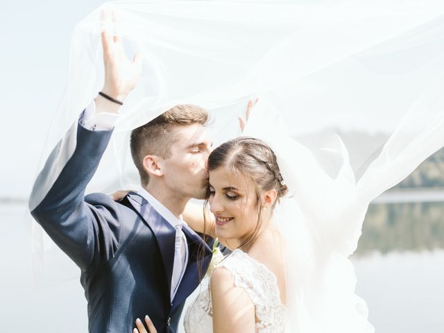 Il matrimonio di Dario e Sharon a Albese con Cassano, Como 156