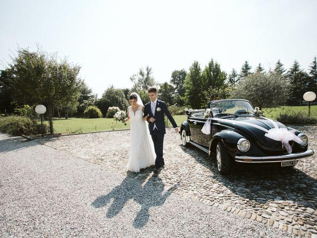 Il matrimonio di Dario e Sharon a Albese con Cassano, Como 166