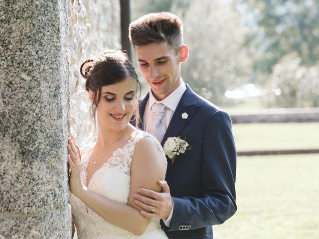 Il matrimonio di Dario e Sharon a Albese con Cassano, Como 213