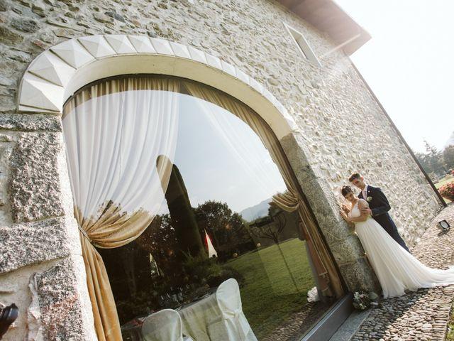 Il matrimonio di Dario e Sharon a Albese con Cassano, Como 214