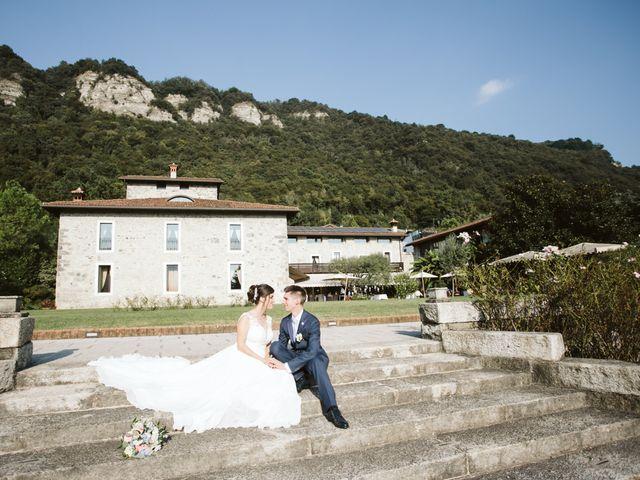 Il matrimonio di Dario e Sharon a Albese con Cassano, Como 218