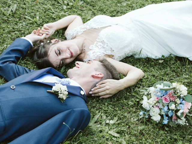 Il matrimonio di Dario e Sharon a Albese con Cassano, Como 230