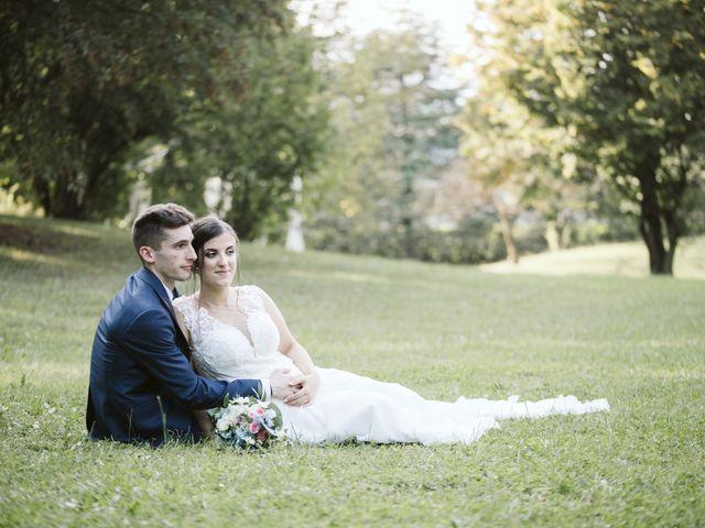 Il matrimonio di Dario e Sharon a Albese con Cassano, Como 234