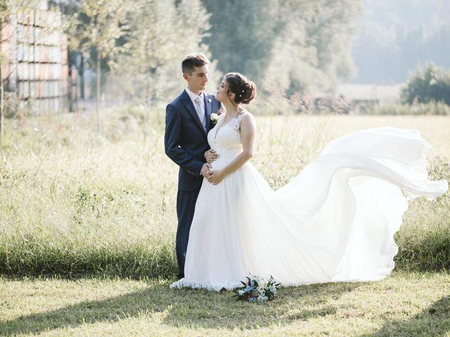 Il matrimonio di Dario e Sharon a Albese con Cassano, Como 241