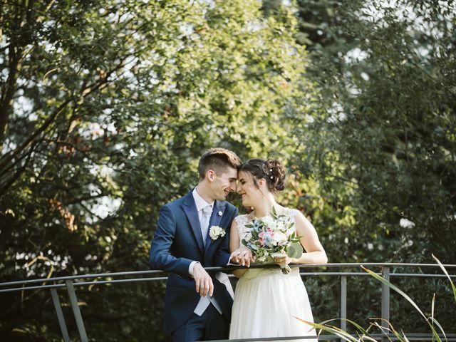 Il matrimonio di Dario e Sharon a Albese con Cassano, Como 1