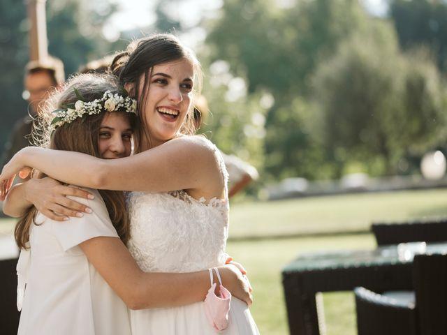 Il matrimonio di Dario e Sharon a Albese con Cassano, Como 253
